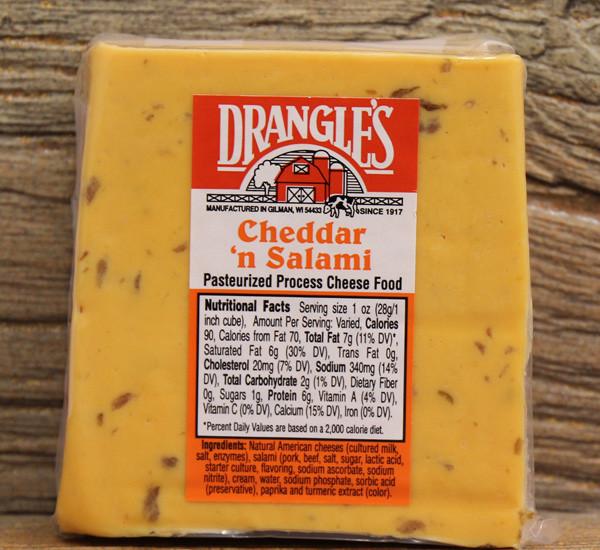 Drangle's Cheddar n Salami