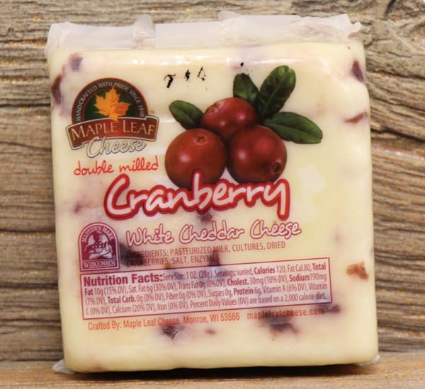 Maple Leaf Cranberry White Cheddar