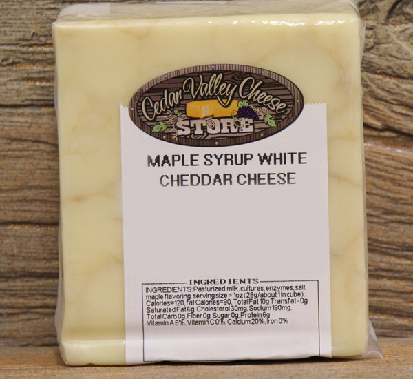 Maple Syrup White Cheddar