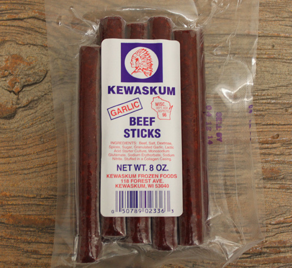 Kewaskum Garlic Beef Sticks