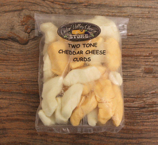Two Tone Cheddar Cheese Curds