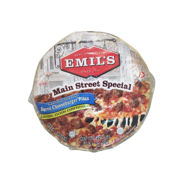 Emil's Bacon Cheeseburger Pizza (Pickup Item Only)