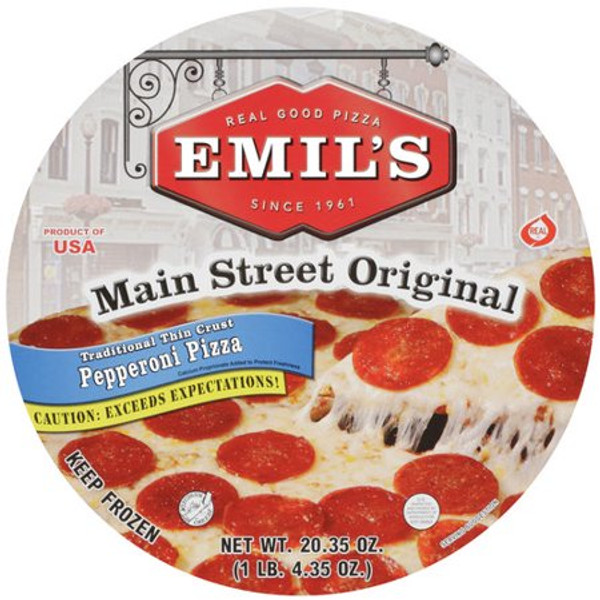 Emil's Pepperoni Pizza (Pickup Item Only)