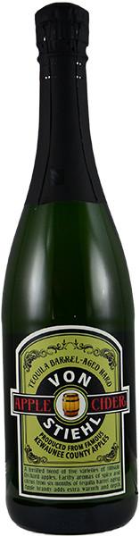 Von Stiehl Tequila Barrel-Aged Hard Cider (Pickup Item Only)