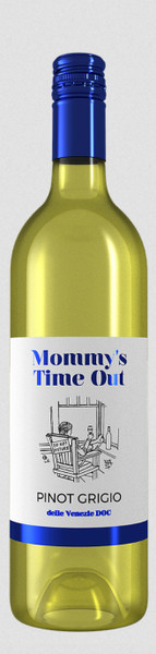 Mommy's Time Out Pinot Grigio (Pickup Item Only)