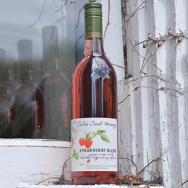 Cedar Creek Winery Strawberry Blush (Pickup Item Only)