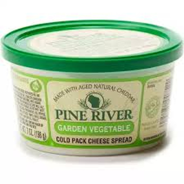 Garlic, onion, tomato, bell peppers, and parsley add a delicious and delightful flavor to this rich and wonderful cream cheese spread.-7oz
