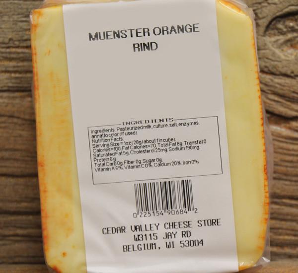 Orange Rind Muenster