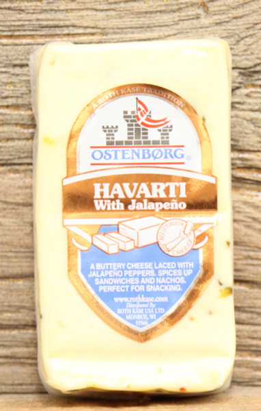Ostenborg Havarti With Jalapeño