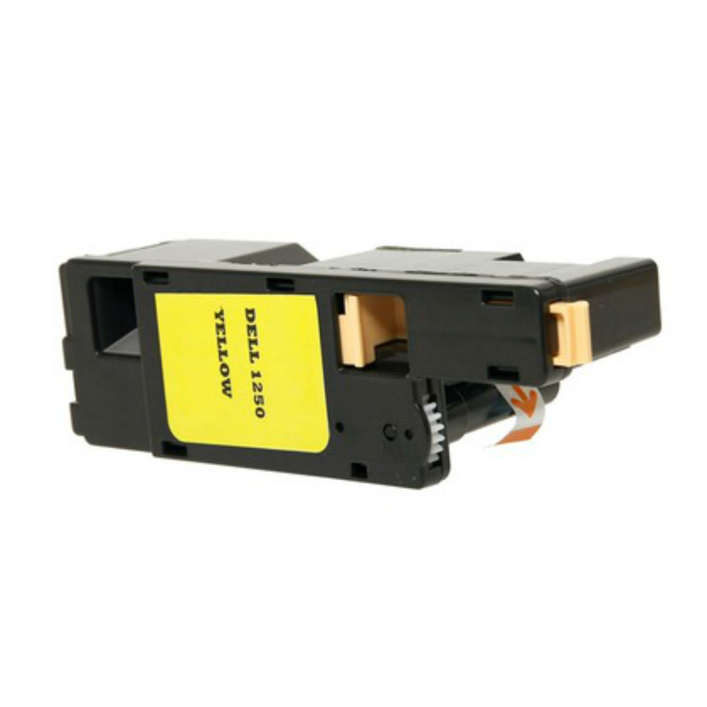 Yellow Toner for Dell 1250 CN, 1350 CNW & 1355 CN/CNW Laser Printer
