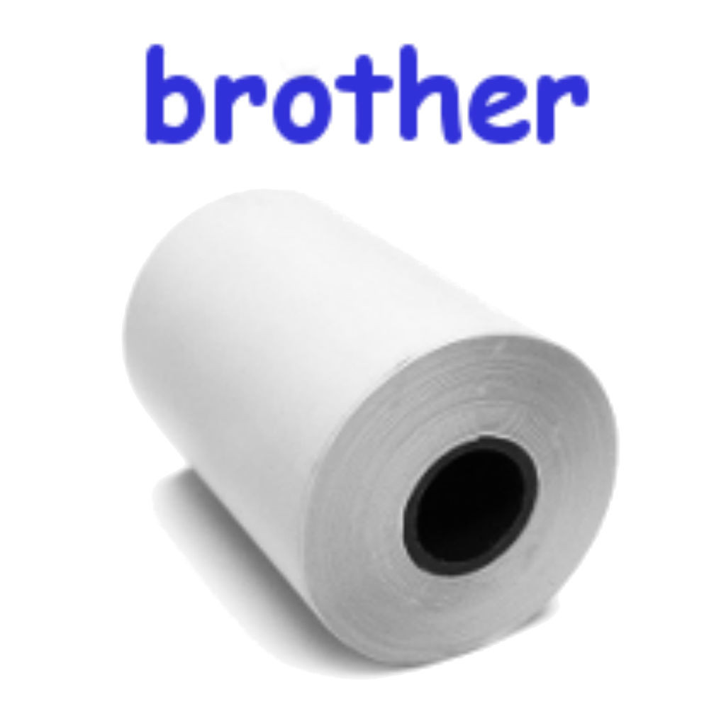 Blank Paper for Brother / 6 Rolls