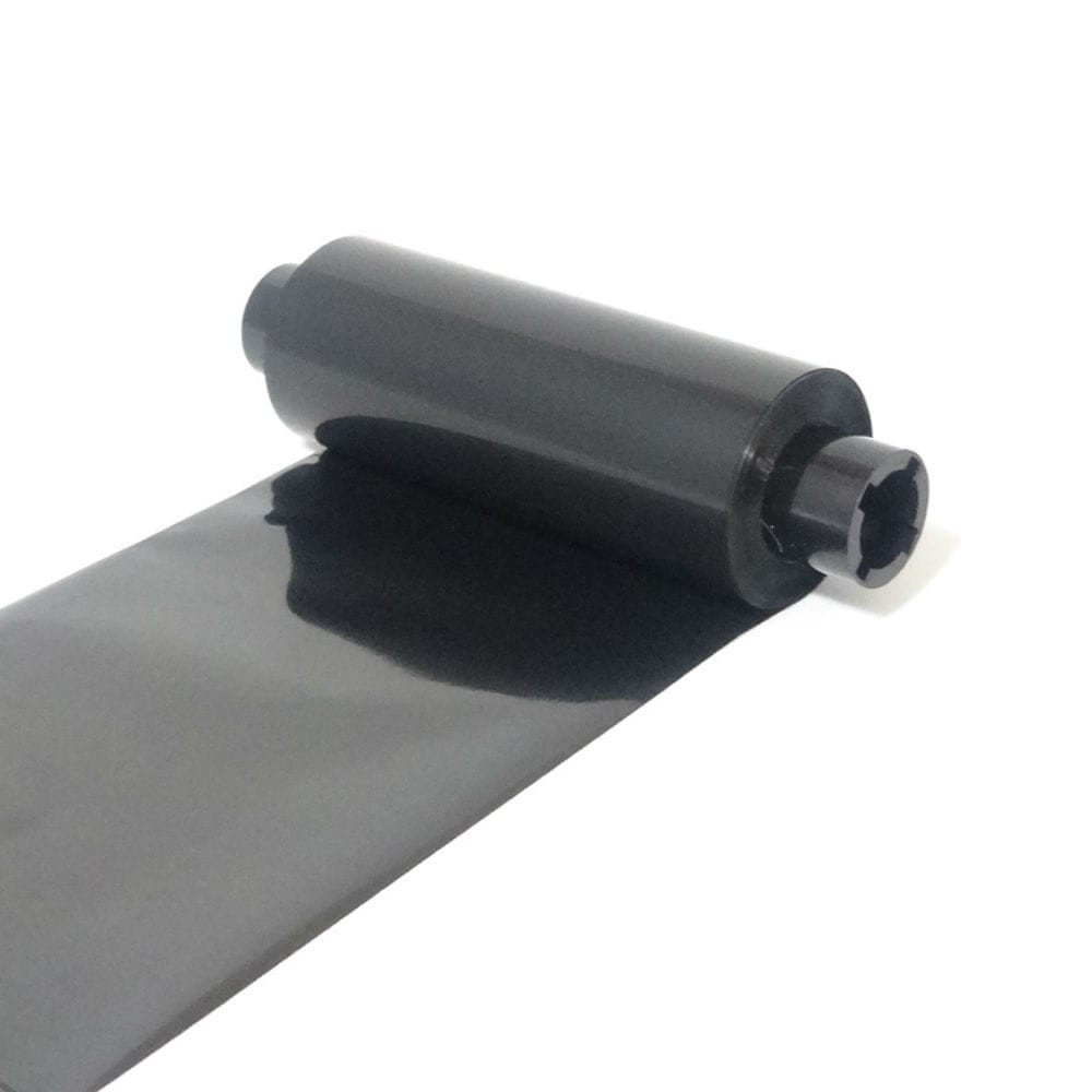 """Wax Resin Ribbon: 4.33"""" x 242' (110.0mm x 74m), Ink on Outside, Premium, Half Inch Core, $7.19 per Roll in 12 Roll Case"""
