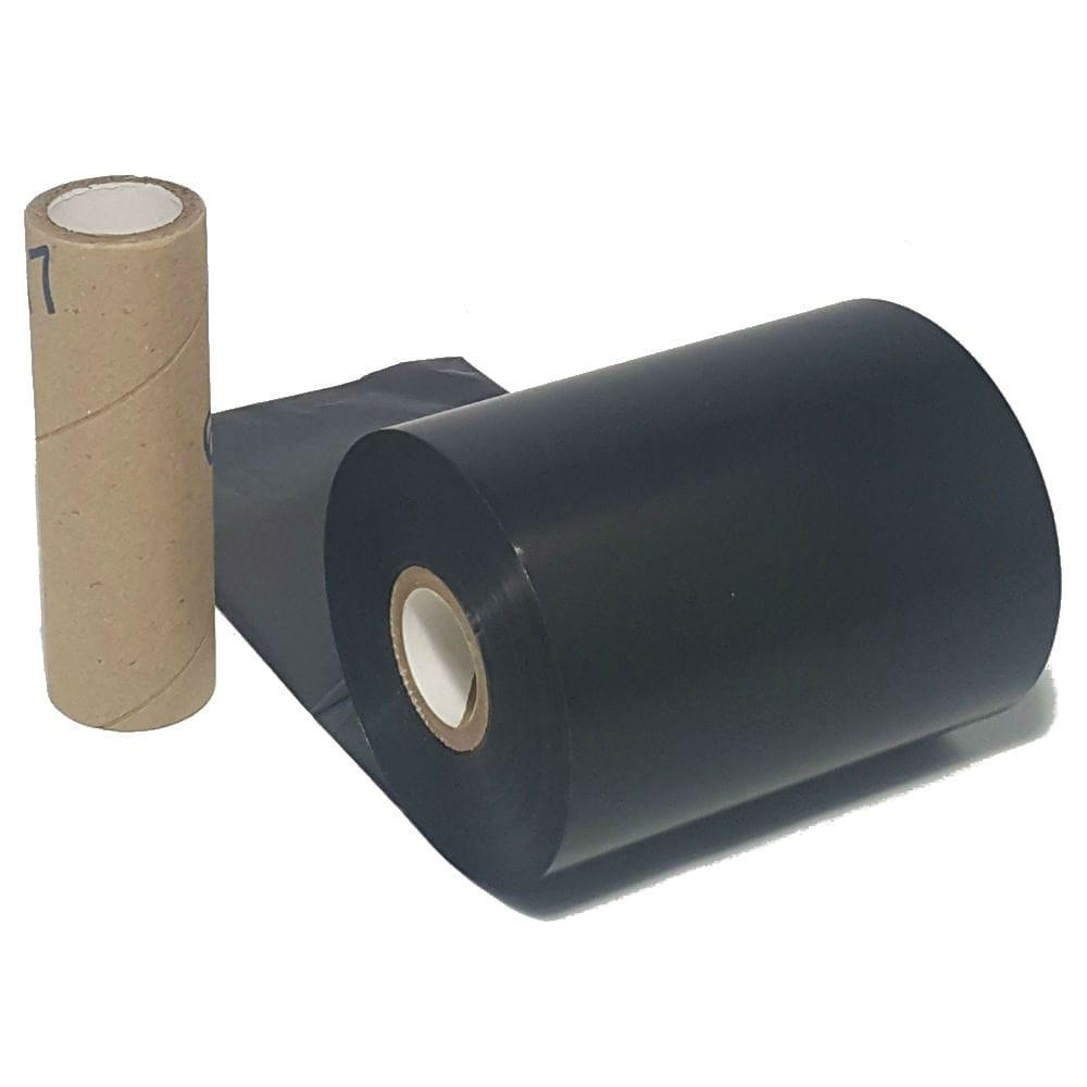 "Wax Resin Ribbon: 1.18"" x 2,952' (30.0mm x 900m), Ink on Inside, General Use, Near Edge, $8.50 per Roll in 12 Roll Case"