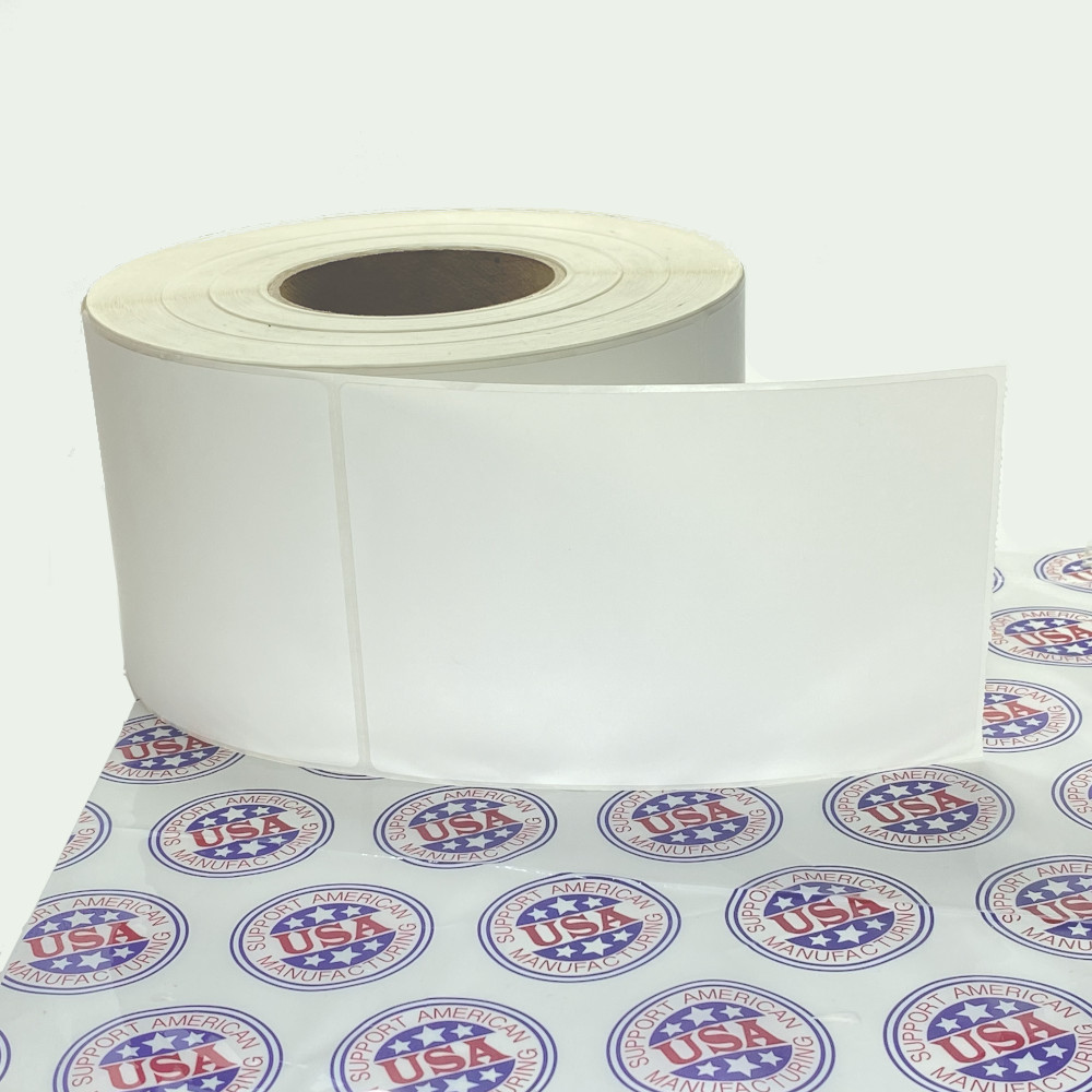 "4"" x 6"", Direct Thermal, Perforated, Roll, 3"" Core, Uncoated, $19.95 per Roll in 4 Roll Case"