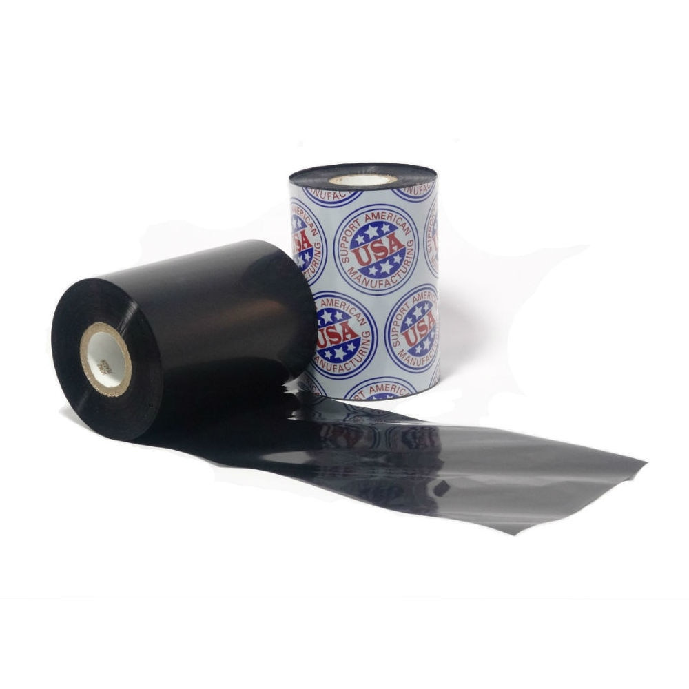 """Resin Ribbon: 2.52"""" x 1,345' (64.0mm x 410m), Ink on Inside, General Use, $12.00 per Roll in 6 Roll Case"""