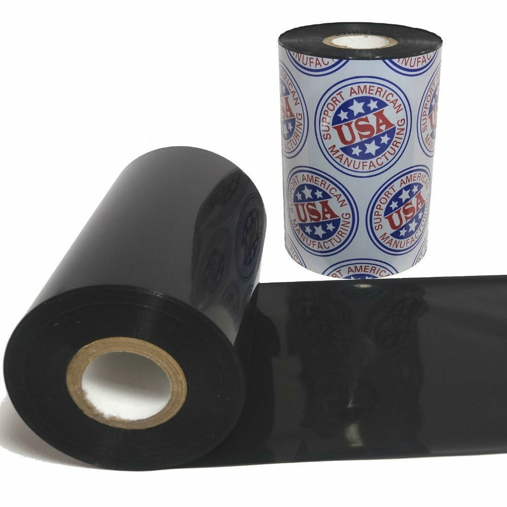 """Wax Resin Ribbon: 1.57"""" x 1,476' (40.0mm x 450m), Ink on Outside, Premium, $6.42 per Roll in 24 Roll Case"""