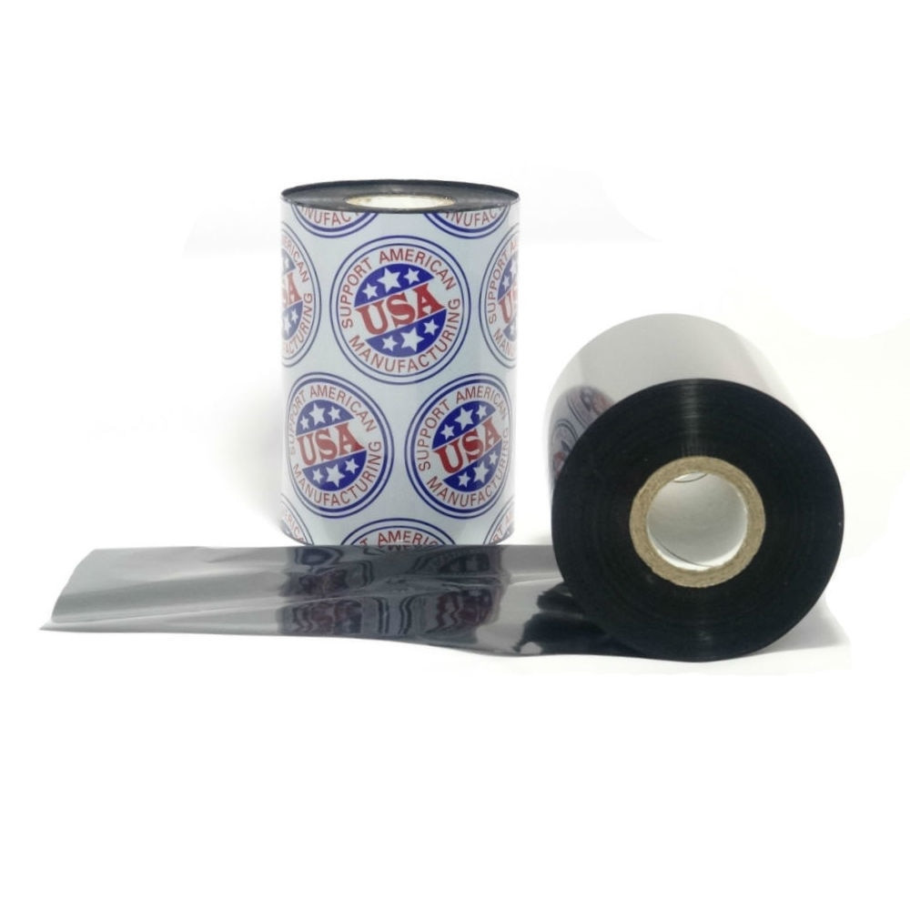 "Wax Resin Ribbon: 1.49"" x 1,181' (38.0 x 360m), Ink on Inside, Premium, $4.88 per Roll in 48 Roll Case"