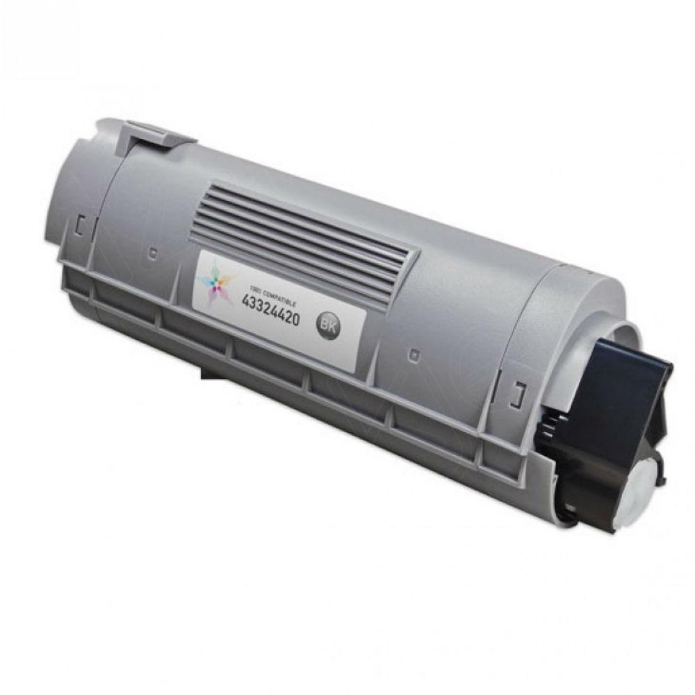 Magenta Toner for Okidata C6100 & C5550 Laser Printer
