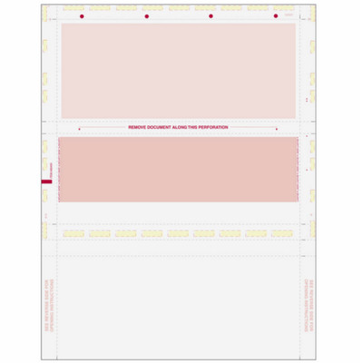 Z-Fold,  Burgundy Check with Burgundy Remit, 8 1/2 x 11