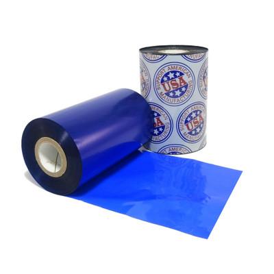 """Wax Ribbon: 2.00"""" x 984' (50.8mm x 300m), Ink on Outside, Blue, $9.57 per Roll in 12 Roll Case"""