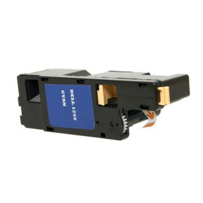 Cyan Toner for Dell 1250 CN, 1350 CNW & 1355 CN/CNW Laser Printer