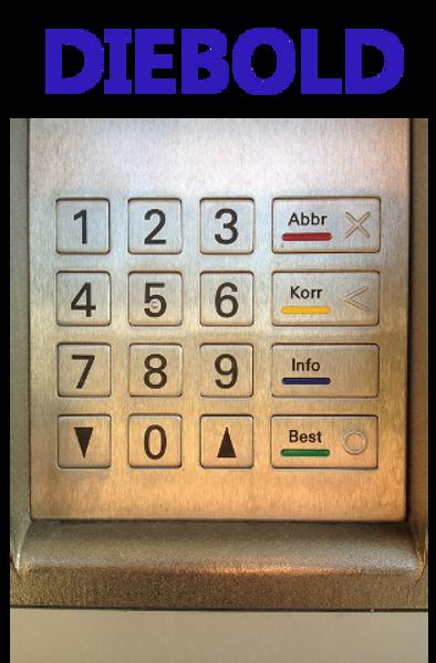 Receipt rolls for Diebold ATM 1000 Series