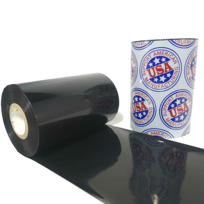"Wax/Resin Ribbon: 4.33"" x 1,181' (114.3mm x 360m), Premium"
