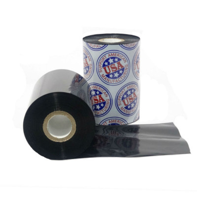 "Wax Resin Ribbon: 2.00"" x 1,476' (50.8mm x 450m), Premium"