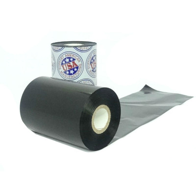 """Resin Ribbon: 6.50"""" x 1,476' (165.1mm x 450m), Ink on Outside, Premium"""