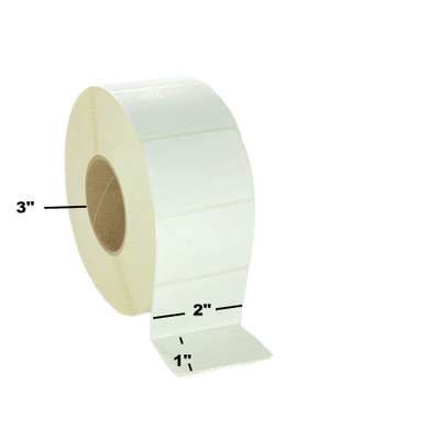 """2"""" x 1"""", Direct Thermal, Perforated, Roll, 3"""" Core, Uncoated, $16.06 per Roll in 8 Roll Case"""