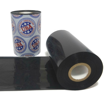 """Resin Ribbon: 1.77"""" x 1,476' (45.0mm x 450m), Ink on Outside, Wicked Tough, $14.15 per Roll in 48 Roll Case"""