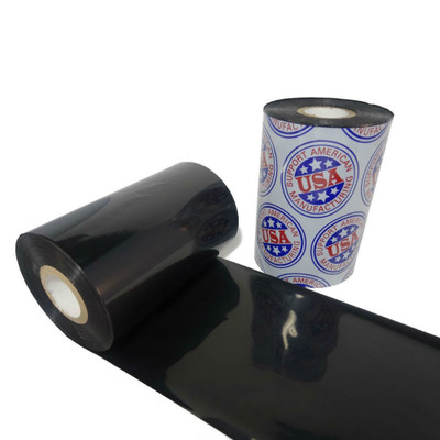"Wax Resin Ribbon: 2.00"" x 1,476' (50.8mm x 450m), Ink on Outside, Premium, $8.03 per Roll in 36 Roll Case"