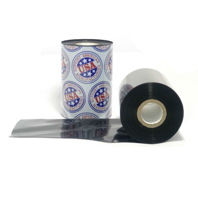 "Wax Resin Ribbon: 2.00"" x 984' (50.8mm x 300m), Ink on Outside, Premium, $5.53 per Roll in 36 Roll Case"