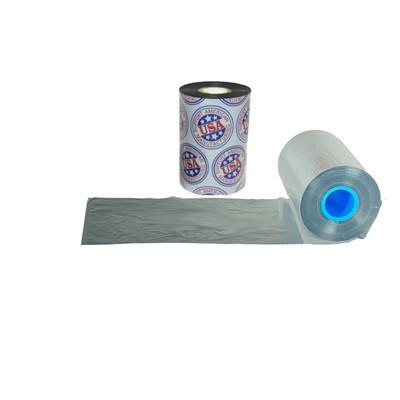 """Wax Resin Ribbon: 1.18"""" x 1,476' (30.0mm x 450m), Ink on Inside, Silver, Near Edge, $8.67 per Roll in 24 Roll Case"""