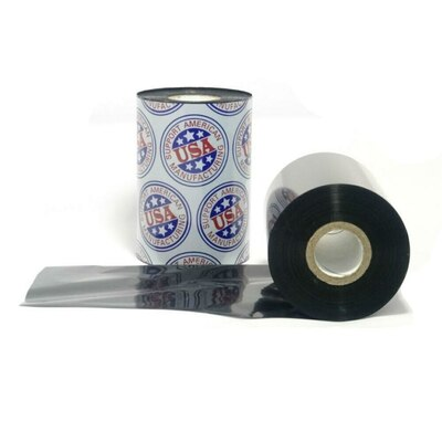 "Resin Ribbon: 1.57"" x 1,476' (40.0mm x 450m), Ink on Outside, Darwin, $9.25 per Roll, 24 Roll Case."