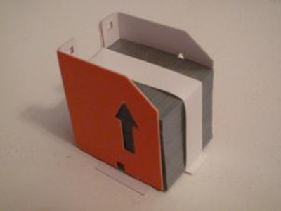 Gestetner Staple, Type F for Part Number: 2960695 Size: 35x28x35 mm