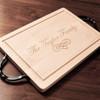 Customizable Rectangle Maple Wood Cutting Board