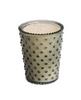 Hobnail Glass Candle - Fern