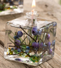 Small Square Blueberry Lifetime Candle