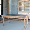 Zinc Topped Farm Table