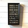 """Best of Saratoga"" Sign"