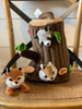Woodland Critters with Tree Carrier