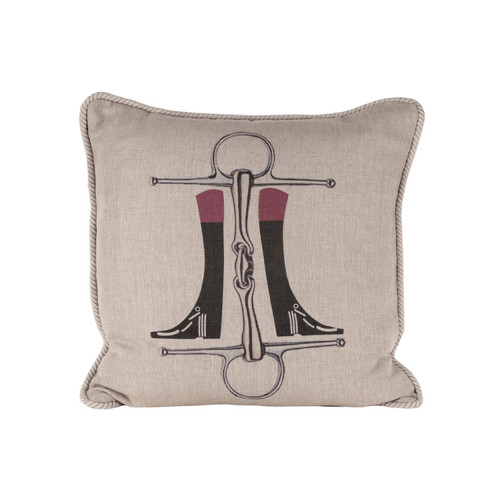 Boots and Bits Pillow