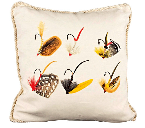 Fishing Flies Pillow