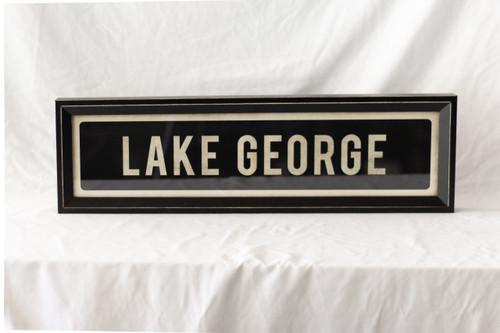 Lake George Street Sign