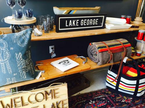 Lake George - Framed Sign