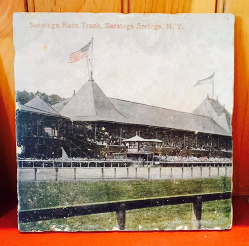 Saratoga Race Track - Large Tile