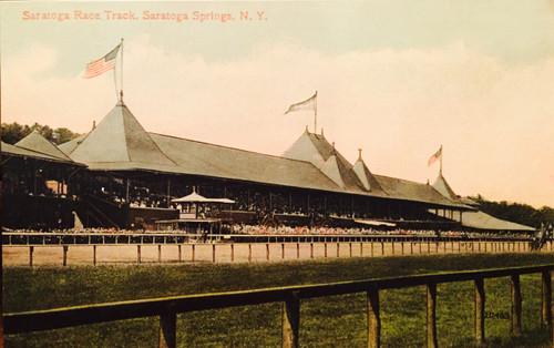 Saratoga Race Track Print - Large