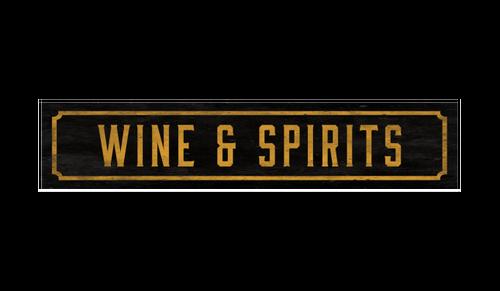 Street Sign - Wine & Spirits