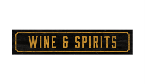 Street Sign - Wine & Spirits
